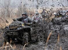 Monday, October 13: Siberian off-road race    Riders compete during the 'Kings of the Off-road' quad bike amateur regional race in a boggy Siberian district near the village of Kozhany, Russia, on Oct. 11, 2014.