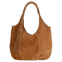 50b3b3730 Buy Jigsaw Orla Suede Hobo Bag, Tan Online at johnlewis.com Hobo Purses,
