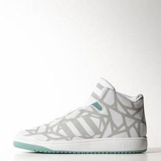 adidas veritas mid shoes 12 clear onix #adidas #shoes #covetme