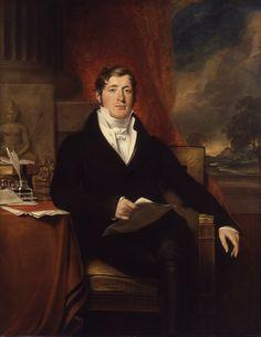 George Francis Joseph, 'Sir Thomas Stamford Bingley Raffles', 1817, oil on canvas, 139.7 x 109.2 cm. Gift of the sitter's nephew, WC Raffles Flint, 1859. Collection of National Portrait Gallery, London.