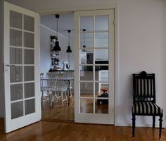 Doorly Herrgård Parinnerdörr Glas
