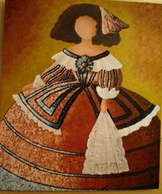 Cuadros meninas Colorful Pictures, Art Pictures, Pinterest Pinturas, Wool Dolls, Female Drawing, Easy Canvas Painting, Flower Fairies, Doll Crafts, Illustrations