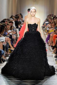 Giambattista Valli Fall 2011 Couture Fashion Show - Josephine Skriver (IMG)