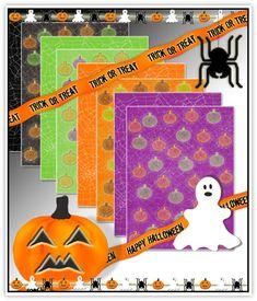 Free Digital Scrapbooking Kits   free halloween digital scrapbook