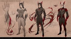 Character Viserion Vulom 2 by IrenBee on DeviantArt Game Character Design, Character Design Animation, Character Concept, Character Art, Concept Art, My Fantasy World, Fantasy Art, Blood Mage, A Dance With Dragons