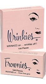Frownies and Wrinkies Smooth Wrinkle Lines as You Sleep
