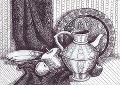 Декоративная Графика Натюрморт - mimege.ru