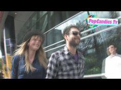 Adam Levine & Anne Vyalitsyna at Staples Center in Los Angeles - http://maxblog.com/11921/adam-levine-anne-vyalitsyna-at-staples-center-in-los-angeles/