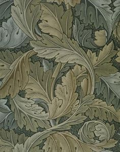 "William Morris, ""Acanthus"", papier peint, 1875"