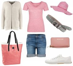 #outfit Rosa gestreift ♥ #outfit #outfit #outfitdestages #dresslove