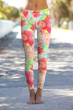 771f62305532 Little Good Idea Lucy Floral Performance Leggings - Women