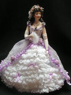 Victorian Dollshouse Doll by Mary Williams
