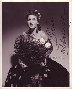Licia Albanese, internationally acclaimed #soprano & master class #teacher was our 1997 VERA awardee.