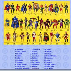 Super Powers Action Figures - I think I had every one of these.