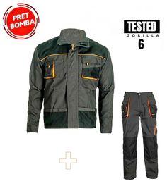 Oferta calitate Strong costum pantalon talie cu jacheta Service Auto, Military Jacket, Bomber Jacket, Costume, Fashion, Pump, Moda, Field Jacket, Fashion Styles