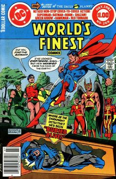 World's Finest # 269, 1981, Rich Buckler/Dick Giordano cover