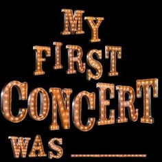 What was the first concert you attended? Mine was the Beatles 1964 at the Hollywood Bowl. Cherokee Billie.    ( mine was unfortunately not the Beatles but Dr Hook and Sha Na Na)