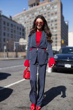 New York Fashion Week AW18: Street Style | Glamour UK #jadealyciainc www.jadealycia.com