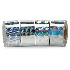Holographic foil tape.  Finally.