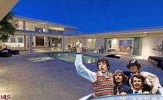 George Harrison's Hollywood Hills Home For Sale; celebrity real estate; www.weselllosangeleshomes.com