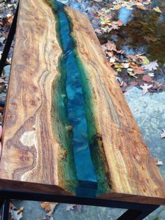 Amazing Resin Wood Table Home Furniture Ideas 14