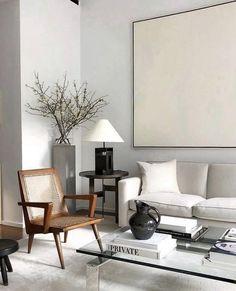 Design Living Room, Living Room Interior, Home Living Room, Home Interior Design, Interior Architecture, Living Room Decor, Living Spaces, Interior Livingroom, Appartement Design