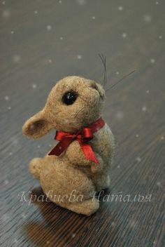 *NEEDLE FELTED ART ~ Игрушки животные, ручной работы. Ярмарка Мастеров - ручная работа Топотушка. Handmade.