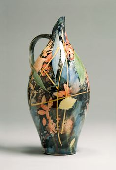 Sopie MacCarthy ceramic Jug from the UK. She is also an illustrator. Worth the visit to her website