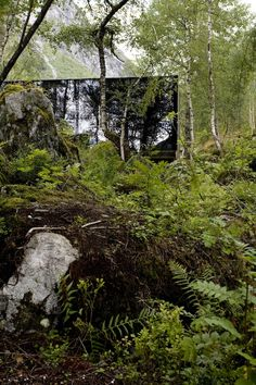 Juvet Landscape Hotel (Norway) - One of the most beautifully integrated with nature hotels we've ever experienced here at Well Travelled.