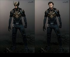 Hugh Jackman as Wolverine! This is the costume including his iconic mask that they should've used in all of the X-Men films... Hq Marvel, Marvel Comic Universe, Marvel Heroes, Marvel Characters, Marvel Cinematic, Wolverine Art, Logan Wolverine, Dc Movies, Comic Movies