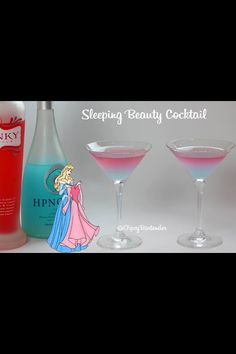 Kinky and hypnotic  Sleeping beauty's drink :)