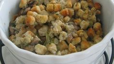 Making this moist bread dressing in a slow cooker is an excellent way to free up the oven for other dishes on a busy cooking day. Modified from: Slow Cooker Stuffing Crockpot Stuffing, Stuffing Recipes, Homemade Stuffing, Cooker Recipes, Crockpot Recipes, Dog Food Recipes, Top Recipes, Family Recipes, Vegan Recipes