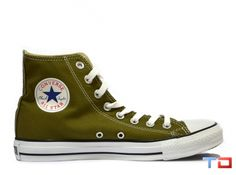 2a4a1070ec79 Converse All Star High Tops Seasonal Olive Green Limited Edition
