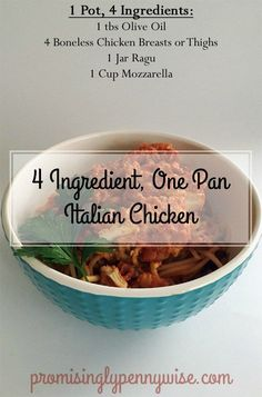 4 ingredients, one p