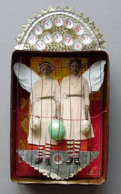 Juli Lili  --  'strange birds' sardine saints series