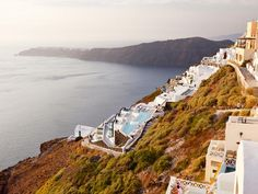 Located on the north side of the island of Santorini, the village of Imerovigli is so famed for its gorgeous sunsets that it is known as