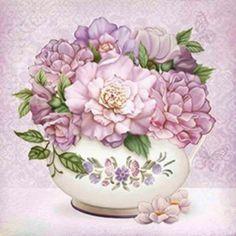 pastel flowers arte francesa