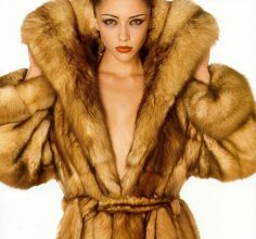 Real Fur Coats for Women | Even though I don't wear real fur for ethical reasons, I have to admit ...