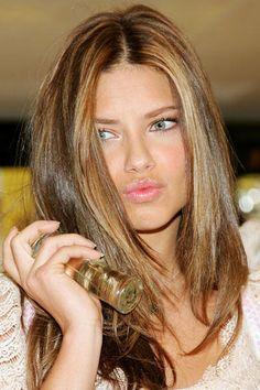 Adriana Lima With Trendy Haircut