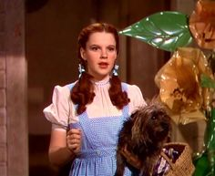 """Dorothy's white dress was actually pink, which was easier to shoot in Technicolor. 