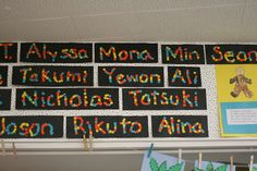 Love this as an activity while we are testing! :) First week of school idea......