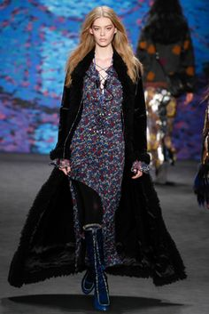 Anna Sui LOOK #30 ENTIRE LOOK.  ASK FOR TIGHTS ON ALL THESE LOOKS TOO!!!