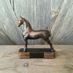 3-Gaited American Saddlebred Bronze and Copper by EllaTheSella