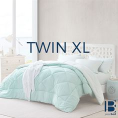 Mint Comforter for Twin XL Bed Comforters Online Oversized Twin XL Comforter College Bedding, Dorm Bedding, Bedding Sets, College Dorms, Twin Bed Comforter, Matching Bedding And Curtains, Mattress Dimensions, Hotel Collection Bedding, Bed Spreads