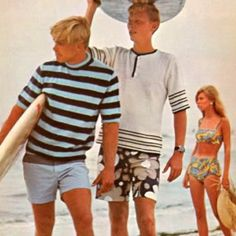 1960's Men's Beach Attire