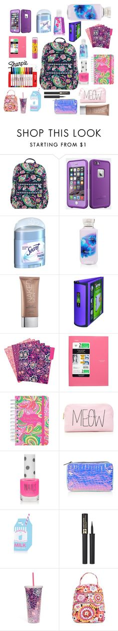 @AmiraisQUEEN's Back to school essentials! by amiraisqueen on Polyvore featuring beauty, Lancôme, Urban Decay, Secret, Topshop, Forever 21, LifeProof, Vera Bradley, Lilly Pulitzer and Maybelline