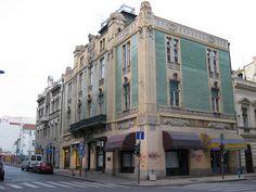 Art Nouveau buildings on Kraija Petra (street), Belgrade, Serbia  http://www.belgradian.com/architecture/?limit=100