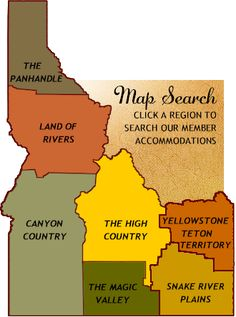 "Many people don't know much about Idaho except ""famous potatoes."" But, it is so much more!  Idaho covers two time zones, runs from ..."