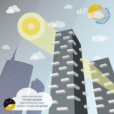 eclissi solare...ci siamo, #brightpeople! #illustration #solareclipse #eclipse #batman