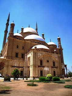 The Mosque of Muhammad Ali Pasha, or Alabaster Mosque, is a mosque situated in the Citadel of Cairo in Egypt and commissioned by Muhammad Ali Pasha between 1830 and 1848.
